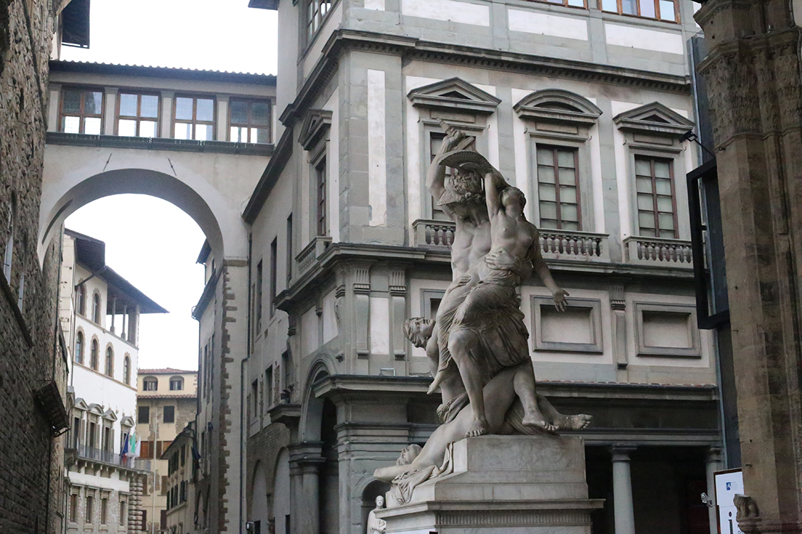 Florence City, Accademia with Michelangelo's David & Uffizi Museum Skip-the-Line Combo Tour – Private Tour in Spanish